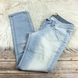 Paige Jeans Pico Flap Pockets Light Wash Ankle